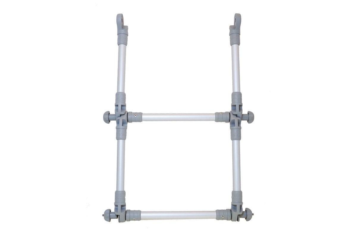 Przedłużenie drabinki aluminiowej składane Ø22 mm El022